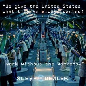 sleep dealer work
