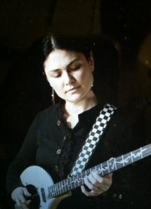 guitar woman