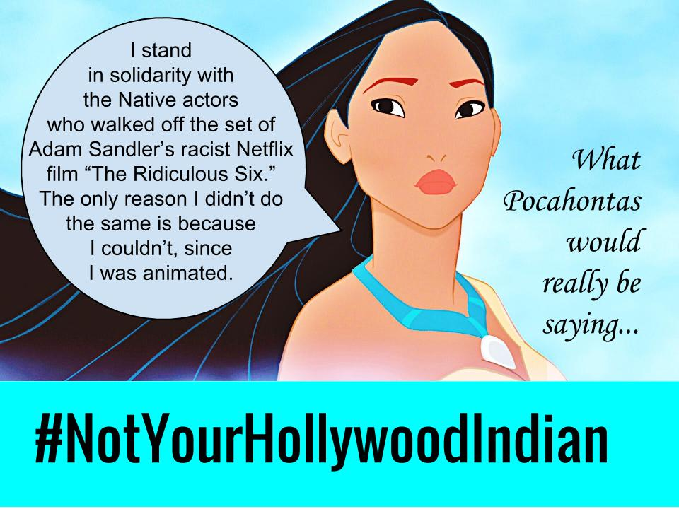 untitled drawing 19 notyourhollywoodindian disney princess meme pocahontas weighs in