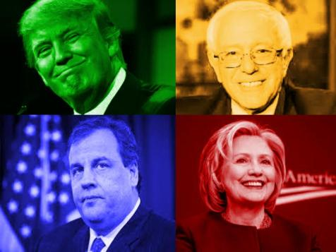4 candidates 4 colors